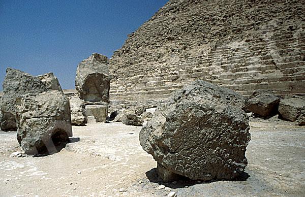 Chephren-Pyramide: Steinfragment, Bild-Nr. Grßansicht: 31a/20