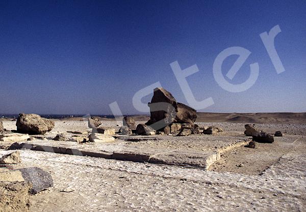 Chephren-Pyramide: Steinfragment, Bild-Nr. Grßansicht: 32a/7