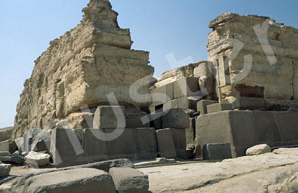 Chephren-Pyramide: Taltempel, Bild-Nr. Grßansicht: 30b/38