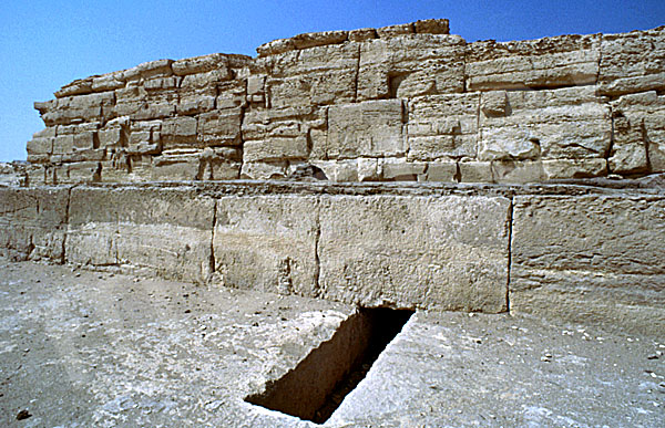 Chephren-Pyramide: Taltempel, Bild-Nr. Grßansicht: 30b/41