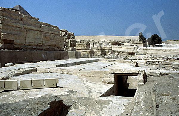 Chephren-Pyramide: Taltempel, Bild-Nr. Grßansicht: 30b/44