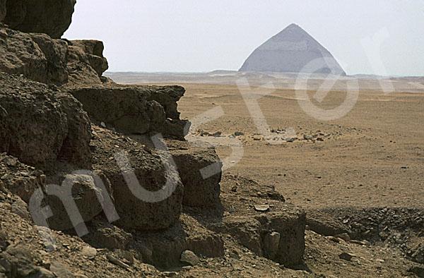 Dahschur / Pyramidengebiet: Blickrichtung Südosten, Bild-Nr. Grßansicht: 520a/3