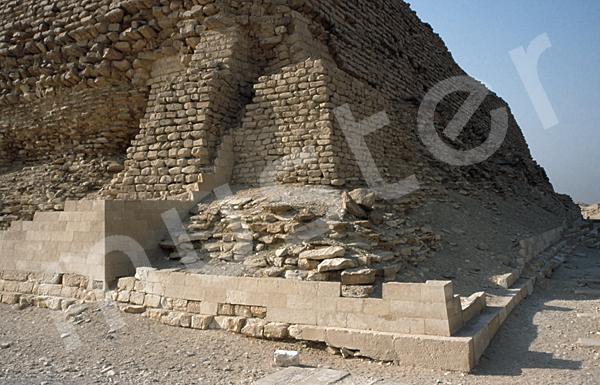 Djoser-Pyramide: Ecke, Bild-Nr. Grßansicht: 200a/5