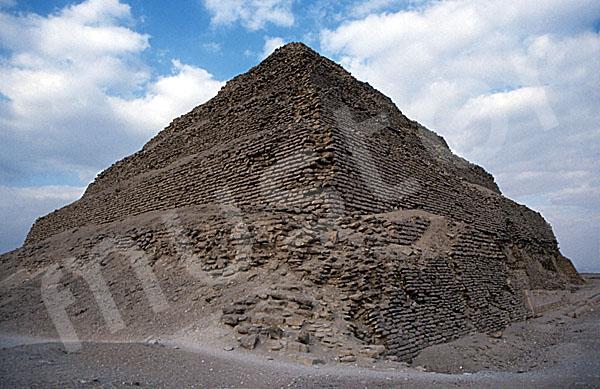 Djoser-Pyramide: Ecke, Bild-Nr. Grßansicht: 200b/9