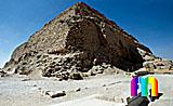 Djoser-Pyramide: Ecke, Bild-Nr. 200a/1, Motivjahr: 1996, © fröse multimedia: Frank Fröse