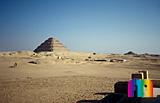 Djoser-Pyramide: Ecke, Bild-Nr. 200a/2, Motivjahr: 1996, © fröse multimedia: Frank Fröse