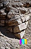 Djoser-Pyramide: Ecke, Bild-Nr. 200a/3, Motivjahr: 1994, © fröse multimedia: Frank Fröse