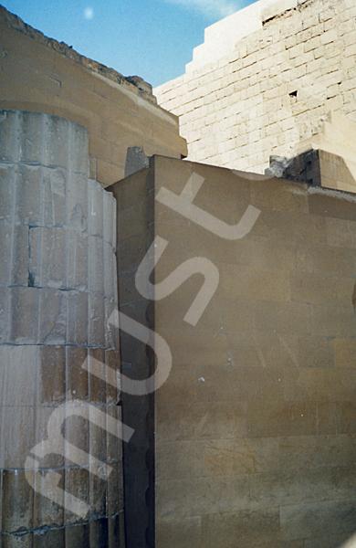 Djoser-Pyramide: Kollonaden- / Eingangshalle, Bild-Nr. Grßansicht: 200a/27