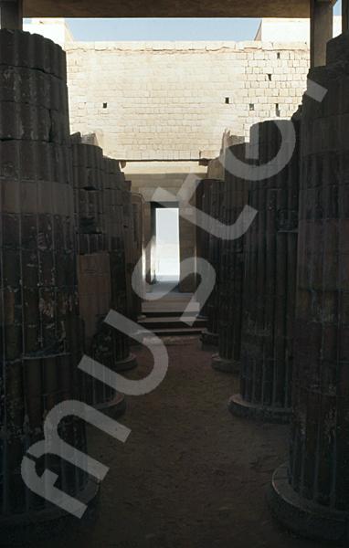 Djoser-Pyramide: Kollonaden- / Eingangshalle, Bild-Nr. Grßansicht: 200a/30