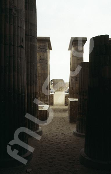 Djoser-Pyramide: Kollonaden- / Eingangshalle, Bild-Nr. Grßansicht: 200b/22
