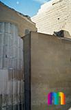 Djoser-Pyramide: Kollonaden- / Eingangshalle, Bild-Nr. 200a/27, Motivjahr: 1992, © fröse multimedia: Frank Fröse