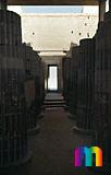Djoser-Pyramide: Kollonaden- / Eingangshalle, Bild-Nr. 200a/30, Motivjahr: 1998, © fröse multimedia: Frank Fröse