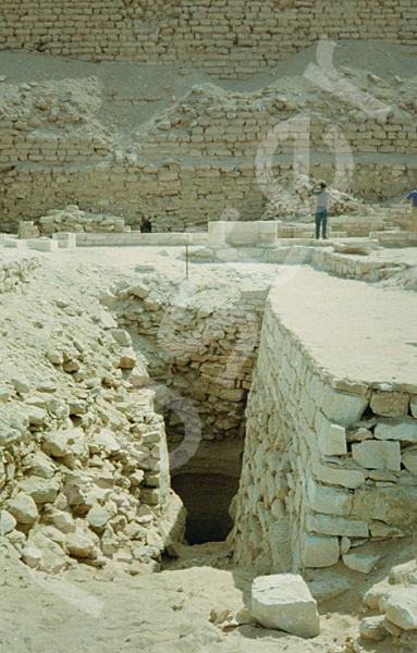 Djoser-Pyramide: Gang, Bild-Nr. Grßansicht: 200a/7