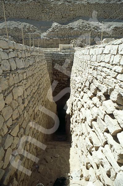Djoser-Pyramide: Gang, Bild-Nr. Grßansicht: 200a/8