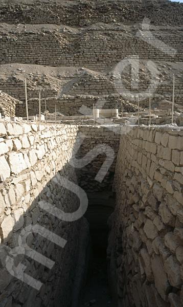 Djoser-Pyramide: Gang, Bild-Nr. Grßansicht: 200a/9