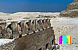 Djoser-Pyramide: Kronenhaus, Bild-Nr. 200a/31, Motivjahr: 1996, © fröse multimedia: Frank Fröse