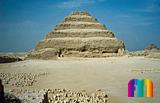 Djoser-Pyramide: Südhof, Bild-Nr. 200a/20, Motivjahr: 1992, © fröse multimedia: Frank Fröse