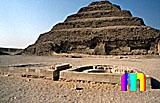 Djoser-Pyramide: Südhof, Bild-Nr. 200a/21, Motivjahr: 1998, © fröse multimedia: Frank Fröse