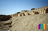 Djoser-Pyramide: Umfassungs- / Temenosmauer, Bild-Nr. 200a/13, Motivjahr: 1994, © fröse multimedia: Frank Fröse