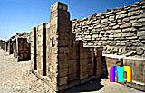 Djoser-Pyramide: Umfassungs- / Temenosmauer, Bild-Nr. 200a/14, Motivjahr: 1998, © fröse multimedia: Frank Fröse