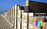 Djoser-Pyramide: Umfassungs- / Temenosmauer, Bild-Nr. 200a/17, Motivjahr: 1998, © fröse multimedia: Frank Fröse