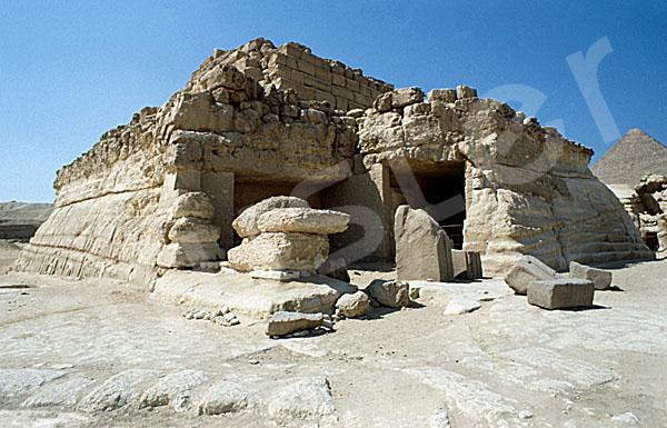 Grab der Chentkaus I.: Ecke, Bild-Nr. Grßansicht: 50a/12