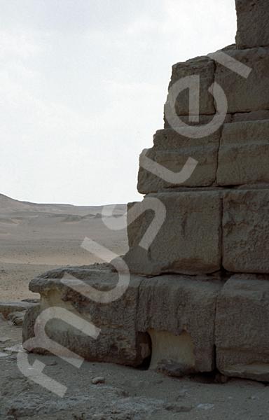 Grab der Chentkaus I.: Ecke, Bild-Nr. Grßansicht: 50a/15