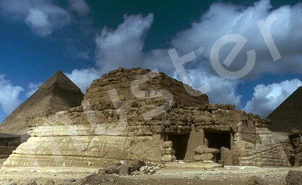 Grab der Chentkaus I.: Ecke, Bild-Nr. Grßansicht: 50a/33