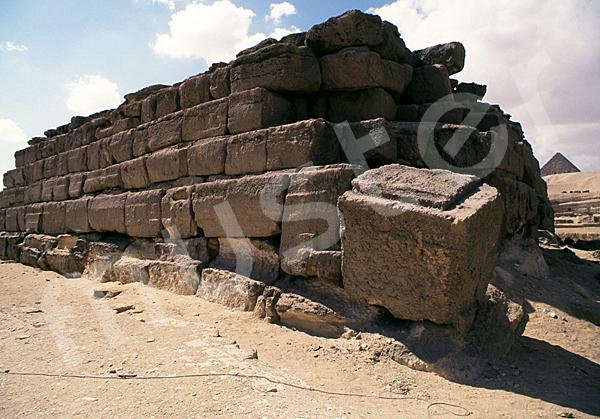 Grab der Chentkaus I.: Ecke, Bild-Nr. Grßansicht: 50b/3