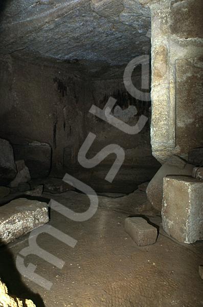 Grab der Chentkaus I.: Grabnische, Bild-Nr. Grßansicht: 55b/17