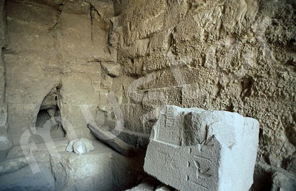 Grab der Chentkaus I.: Vor- / Königinnenkammer, Bild-Nr. Grßansicht: 55a/10