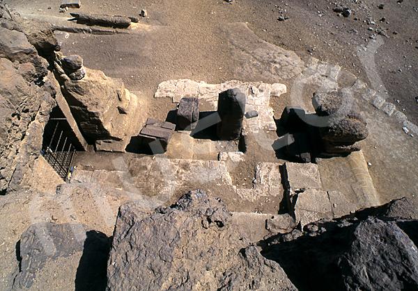 Grab der Chentkaus I.: Vor- / Königinnenkammer, Bild-Nr. Grßansicht: 55a/44