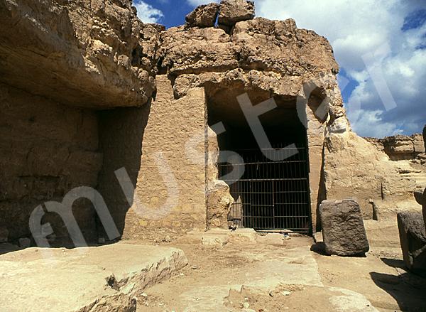 Grab der Chentkaus I.: Vor- / Königinnenkammer, Bild-Nr. Grßansicht: 55a/45