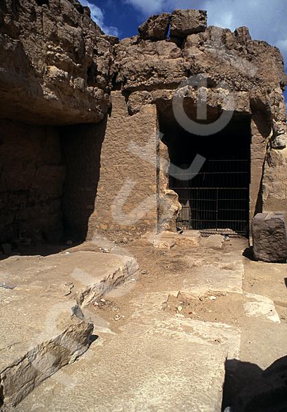 Grab der Chentkaus I.: Vor- / Königinnenkammer, Bild-Nr. Grßansicht: 55a/46