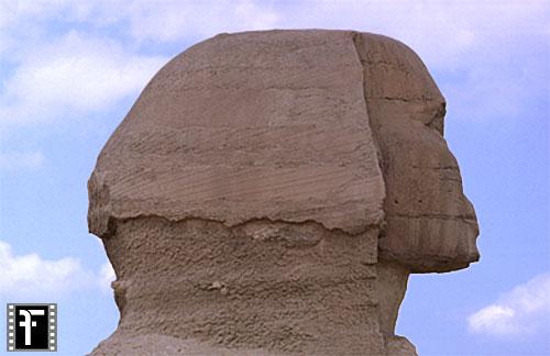 Große Sphinx von Gizeh: Statue, Bild-Nr. Grßansicht: 560a/7