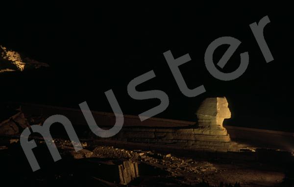 Große Sphinx von Gizeh: Statue, Bild-Nr. Grßansicht: 560b/10