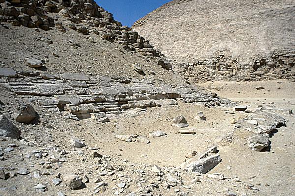 Knick-Pyramide: Opferkapelle, Bild-Nr. Grßansicht: 370b/7