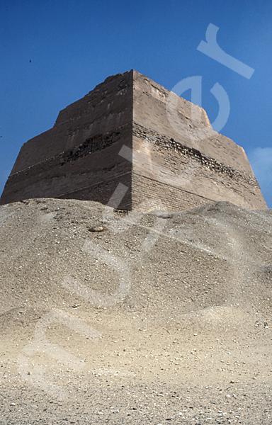 Medum-Pyramide: Ecke, Bild-Nr. Grßansicht: 420b/9