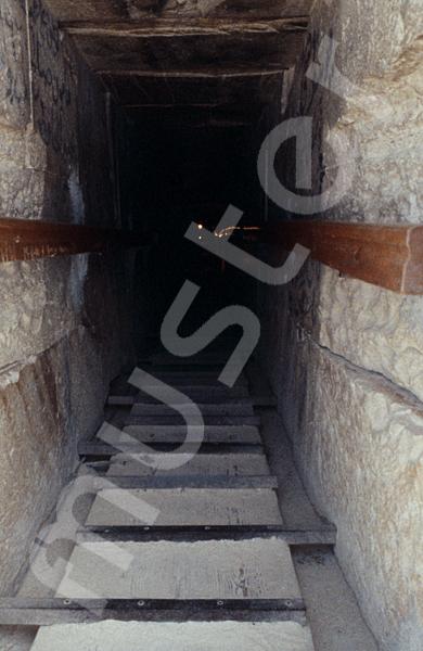 Medum-Pyramide: Gang, Bild-Nr. Grßansicht: 425a/1