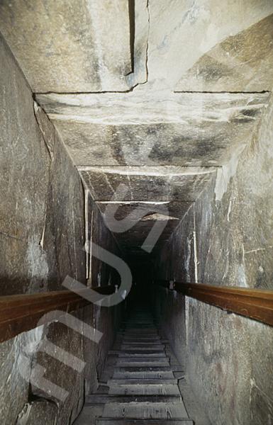 Medum-Pyramide: Gang, Bild-Nr. Grßansicht: 425a/32