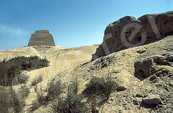 Medum-Pyramide: Torbau, Bild-Nr. Grßansicht: 420a/6
