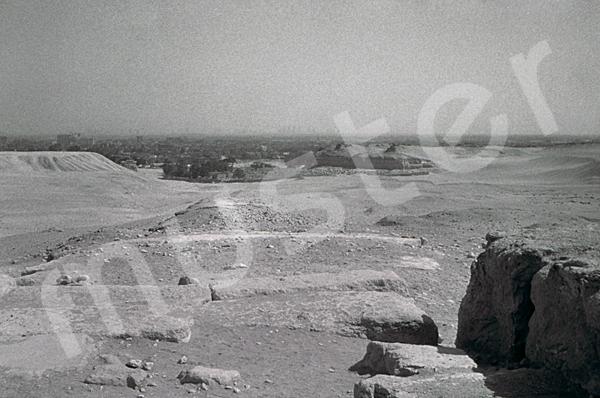 Mykerinos-Pyramide: Aufweg, Bild-Nr. Grßansicht: 40b/27