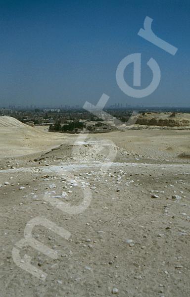 Mykerinos-Pyramide: Aufweg, Bild-Nr. Grßansicht: 40b/28