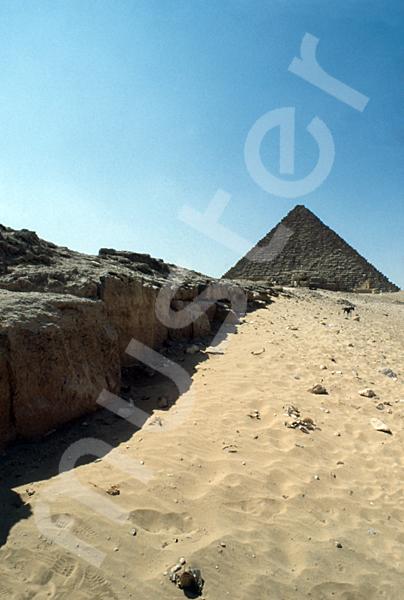 Mykerinos-Pyramide: Aufweg, Bild-Nr. Grßansicht: 40b/29