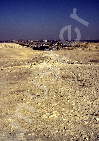 Mykerinos-Pyramide: Aufweg, Bild-Nr. Grßansicht: 41b/1