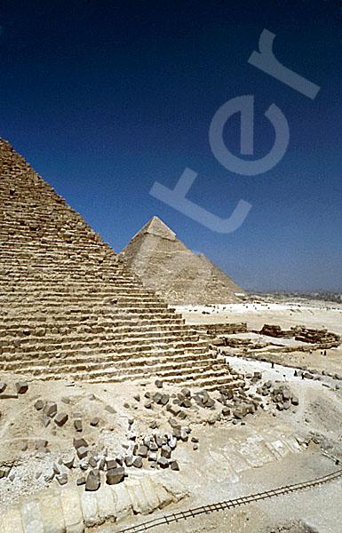 Mykerinos-Pyramide: Ecke, Bild-Nr. Grßansicht: 40a/14