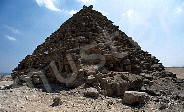 Mykerinos-Pyramide: Ecke, Bild-Nr. Grßansicht: 40b/36
