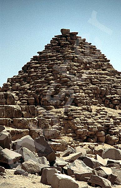 Mykerinos-Pyramide: Ecke, Bild-Nr. Grßansicht: 40b/37