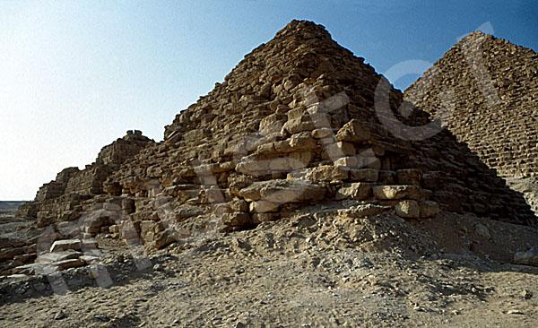 Mykerinos-Pyramide: Ecke, Bild-Nr. Grßansicht: 40b/40