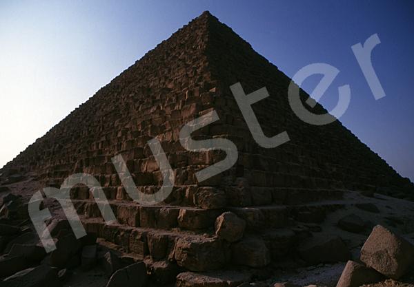 Mykerinos-Pyramide: Ecke, Bild-Nr. Grßansicht: 41a/25